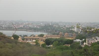 Visiting Kanak Ghati in Jaipur