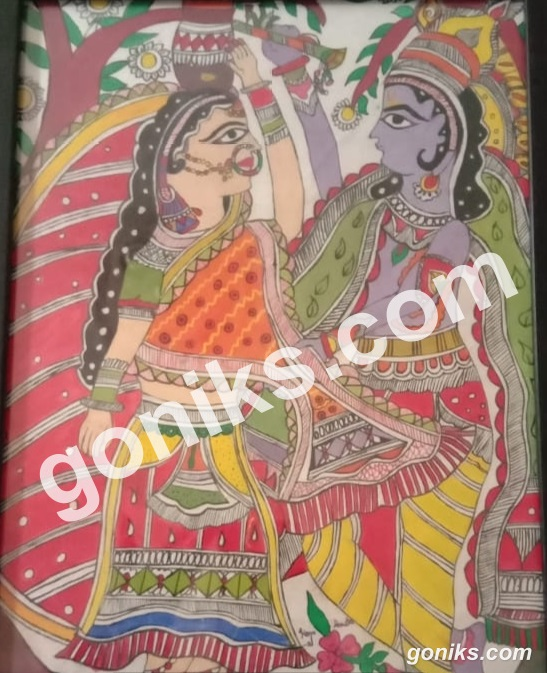 Radha Krishna Paiting