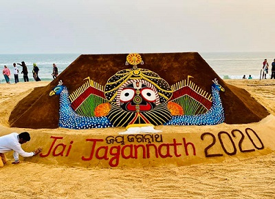 sand castle by sudarshan pattnaik