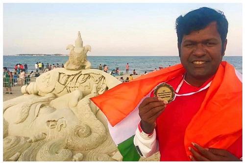 sudarshan pattnaik with awards