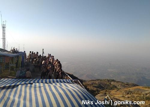 guru shikhar in Mount Abu