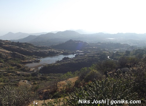 Lovers Point in Mount Abu