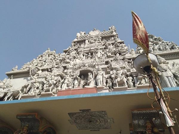 Annapurna temple in Indore