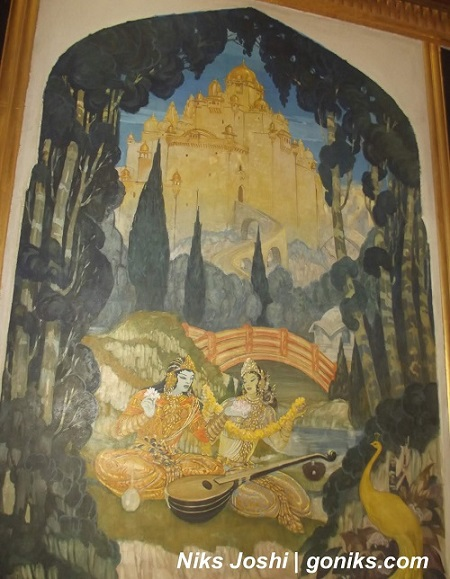 A painting in museum of umaid bhawan