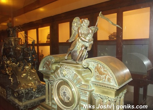 Antiques in the museum of Jodhpur