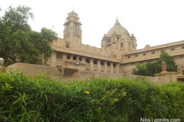 Umaid Bhawan Palace Hotel and Museum