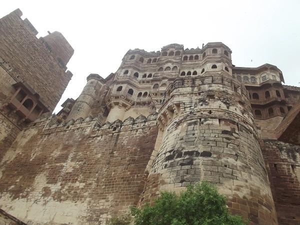 Architecture of Mehrangarh