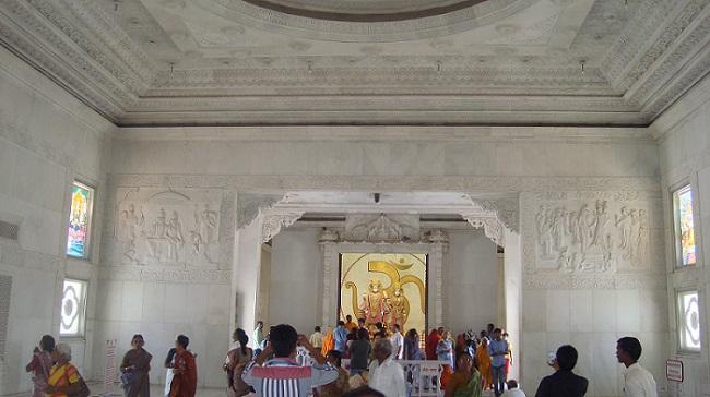 Insides of birla mandir jaipur