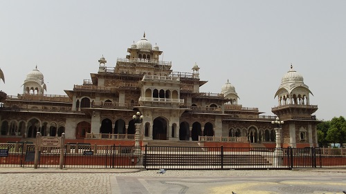 albert hall museum palaces in jaipur