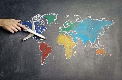 international flight ticket booking
