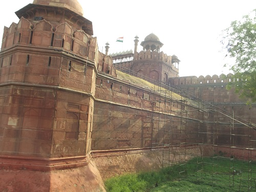 best places to visit in delhi-red fort